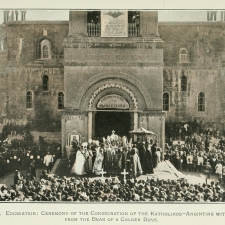 The seat of the Catholicos of All Armenians is in Etchmiadzin in Armenia