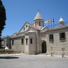 The Seat of the Catholicos-Patriarch of Catholic Armenians is in Bzommar, Lebanon