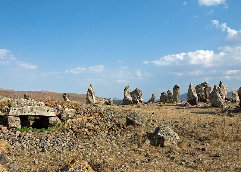 Shaun Dunphy from Lindfield, United Kingdom (Karahunj - standing stones  Uploaded by russavia)
