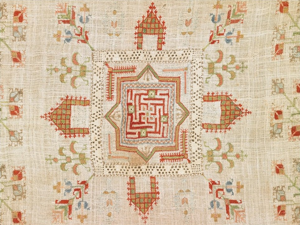 An example of Armenian lacework dating from the 18th century
