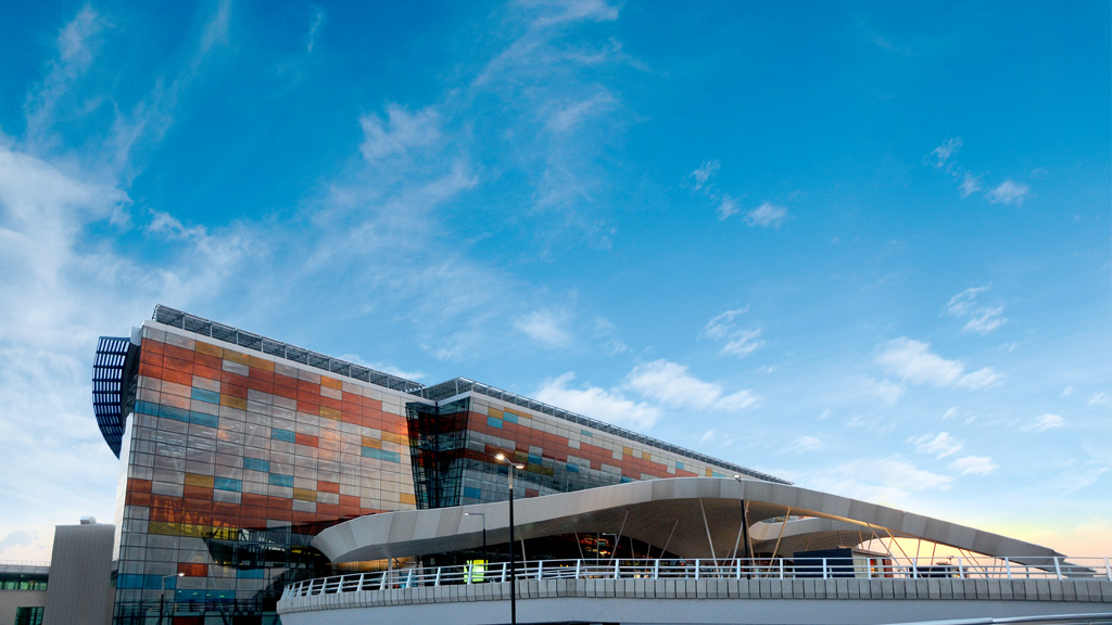 Zvartnots Airport used to seem less-than-welcoming to visitors by air to Armenia, until its transformation through Argentine-Armenian investments; this new terminal building was inaugurated in 2011
